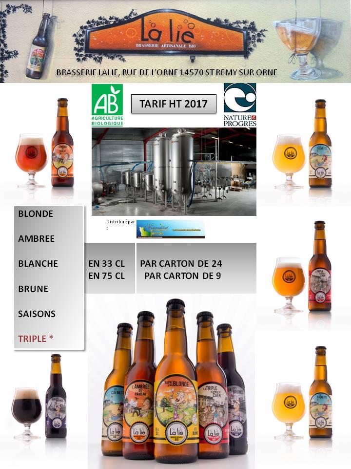 Bières La lie
